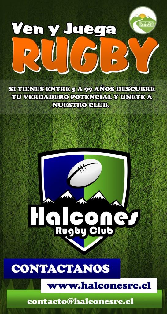 Ven y juega Rugby