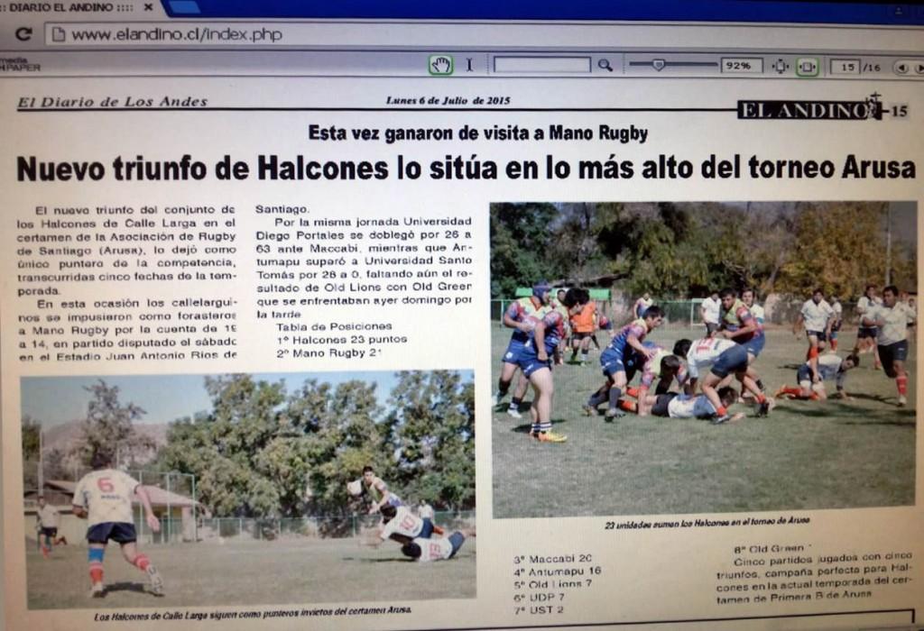 Diario El Andino 06-07-2015