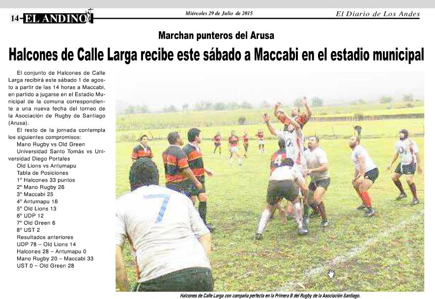 Diario el Andino 29 de Julio 2015 - 2