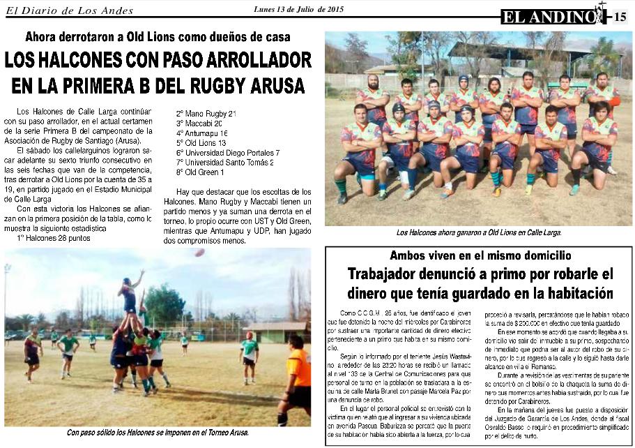 El Andino 13-Julio-2015
